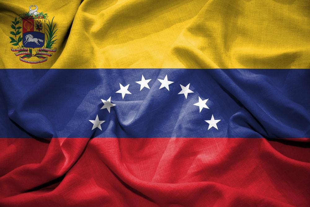 The Venezuelan flag (Shutterstock)