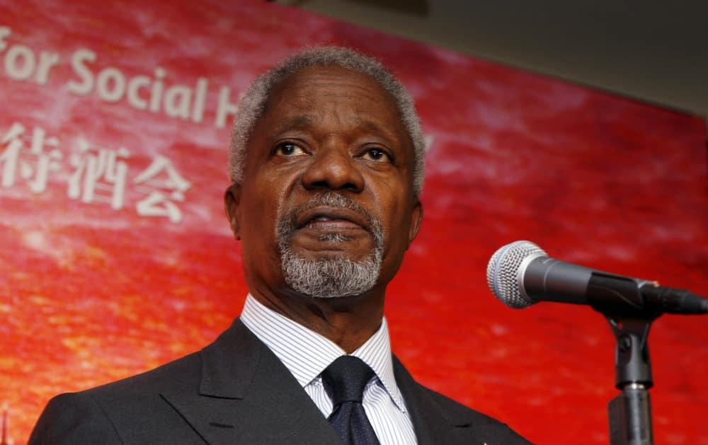 Kofi Annan served as the UN Secretary-General
