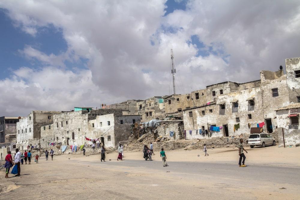 Mogadishu in Somalia