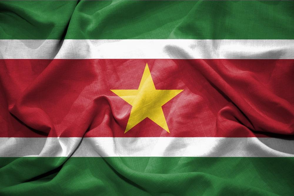 The Surinamese flag