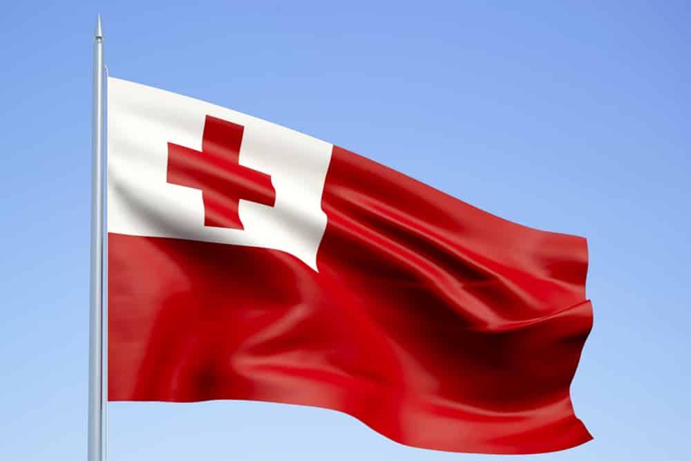 A Tongan flag