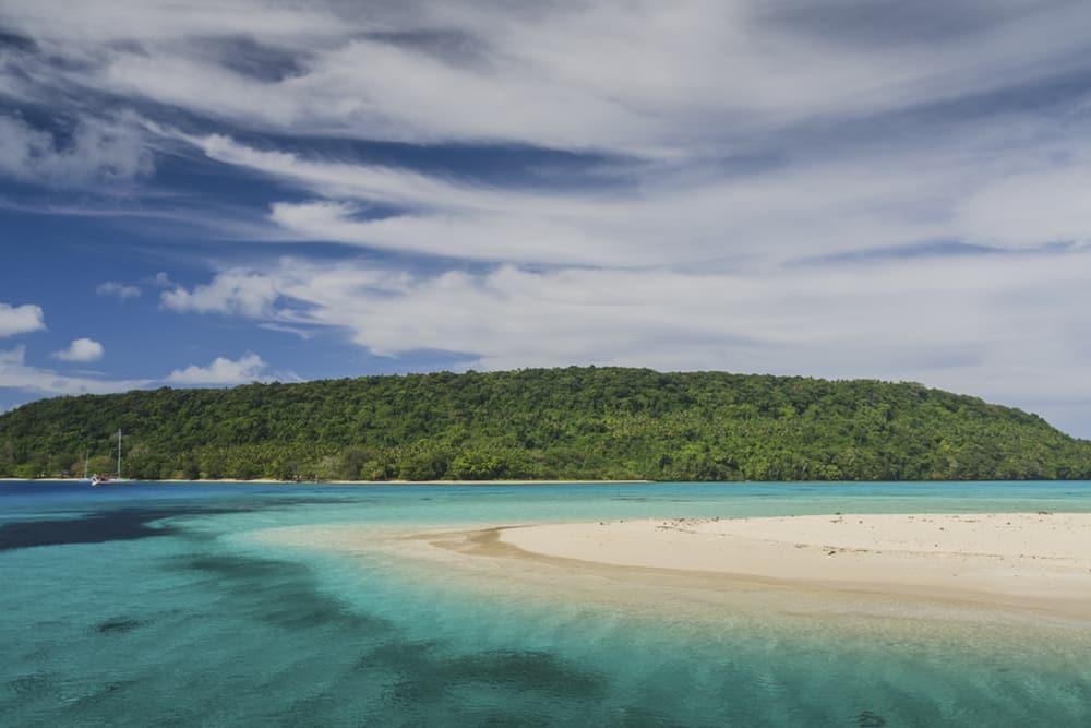 An island in Tonga