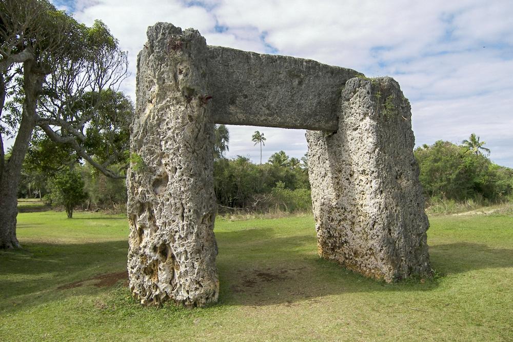 The Ha'amonga 'a Maui (Maui's Burden) AKA Stonehenge