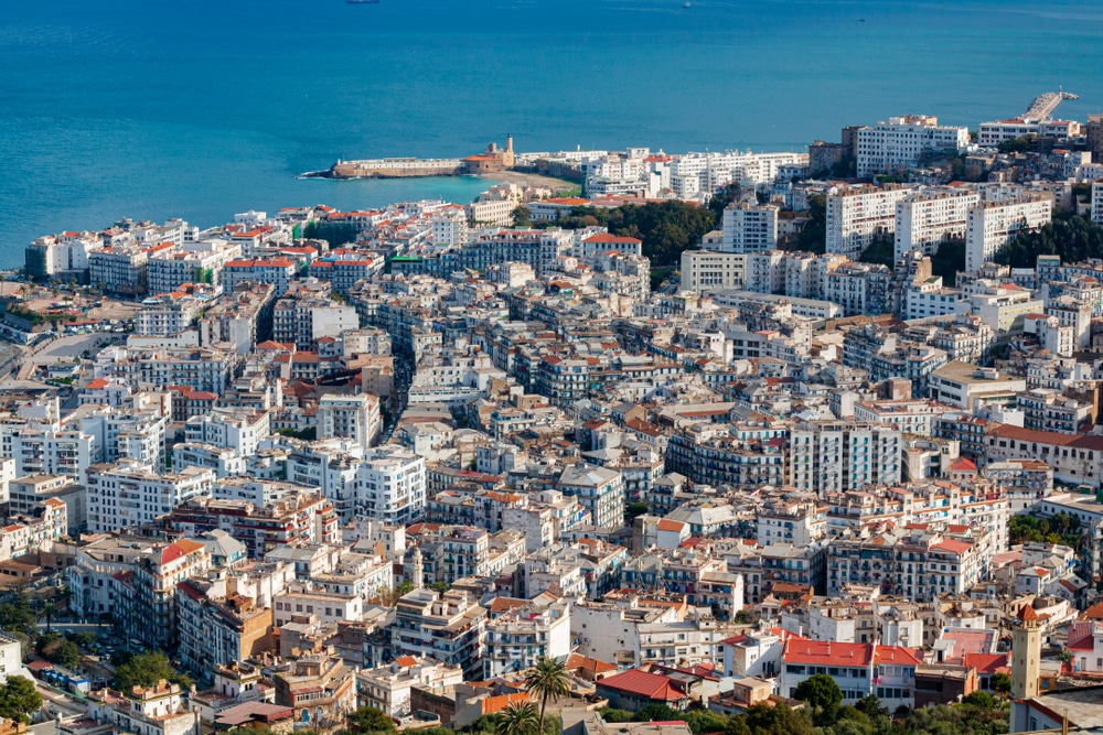 Algiers' buildings are one of  facts about Algeria