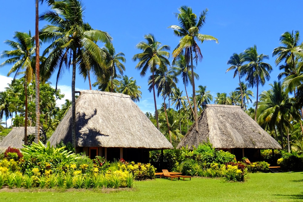 The most interesting facts about Fiji include its unique houses