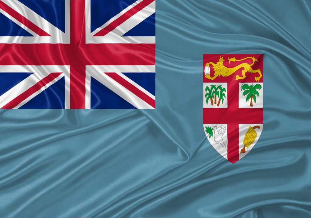 One of the most interesting facts about Fiji is its flag (Shutterstock)