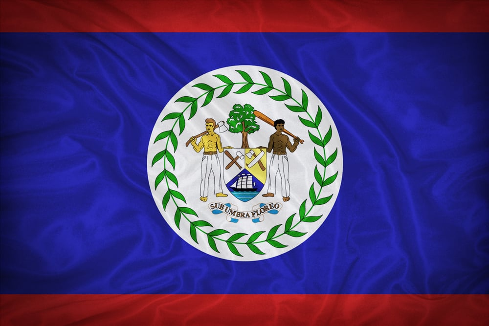 interesting facts about Belize flag