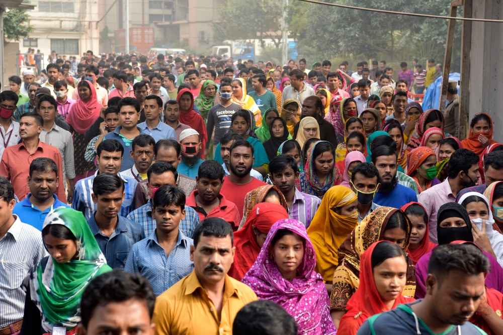 Several interesting facts about Bangladesh are population related