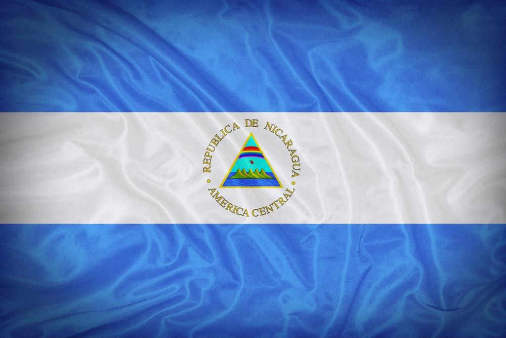 Nicaragua's flag