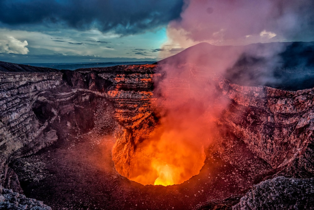 Interesting facts about Nicaragua include its volcanoes