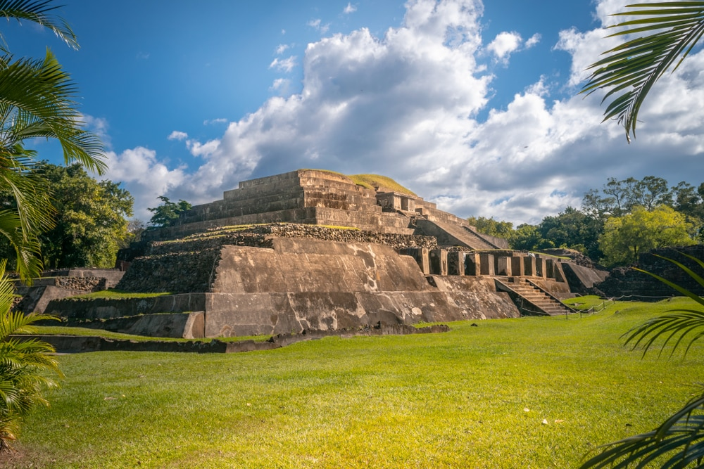 The Tazumal complex in El Salvador
