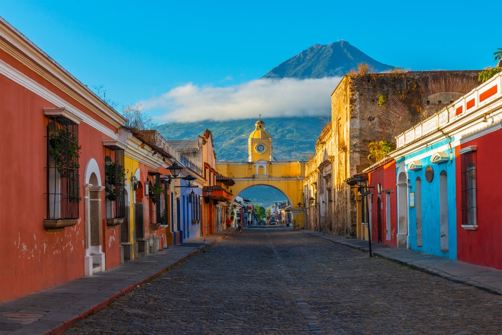 The city of Antigua