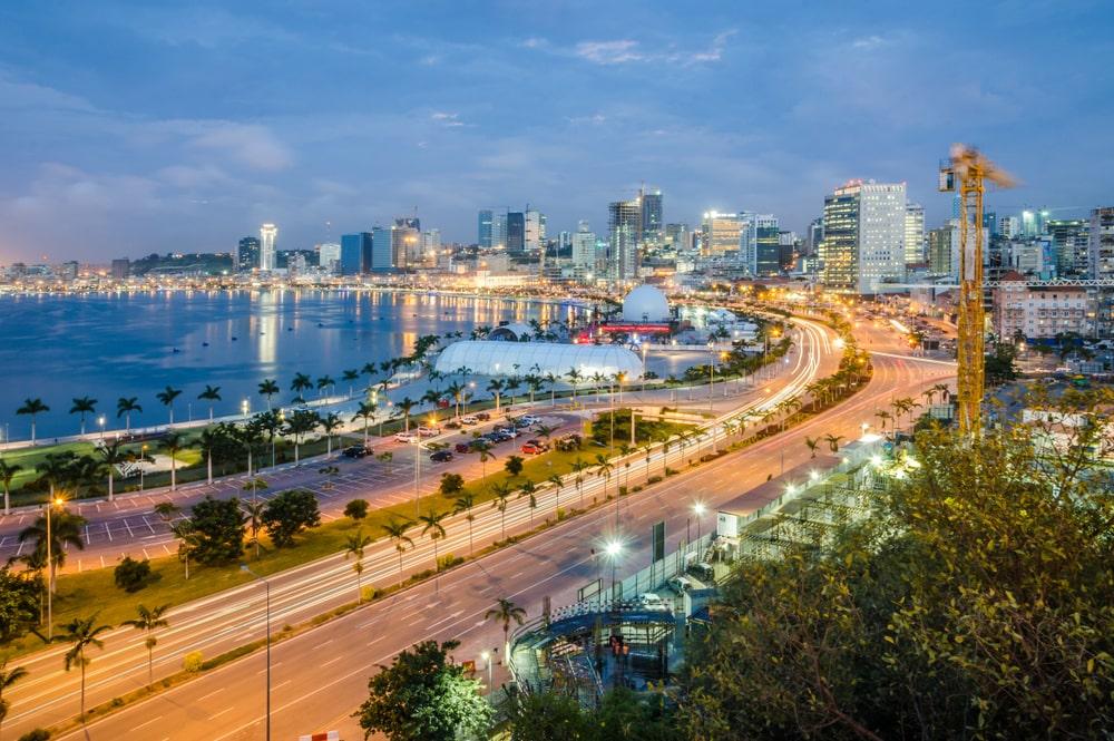 Luanda is the capital of Angola