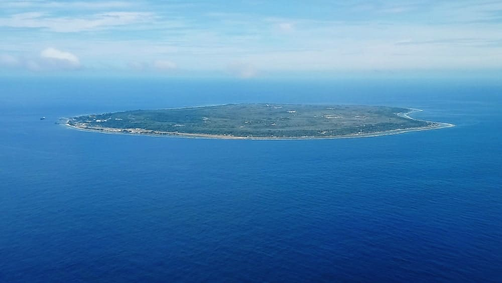 Several interesting facts about Nauru result from its size
