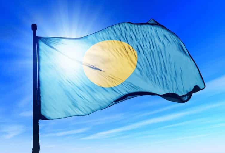 Palau's flag