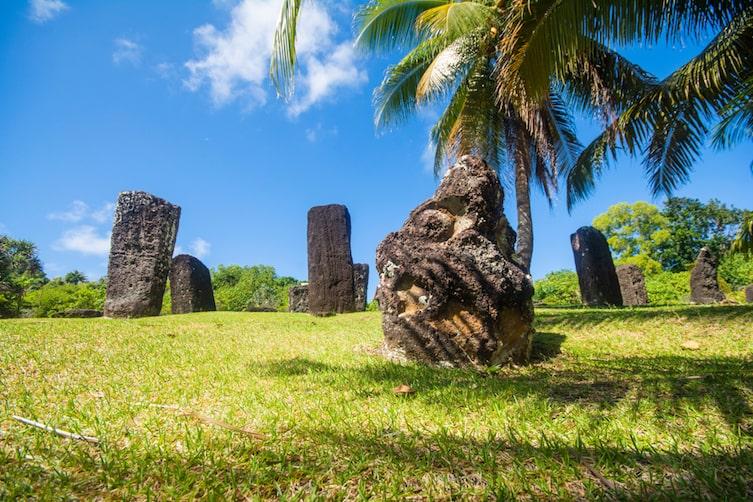 The Badrulchau Stone Monoliths in Palau