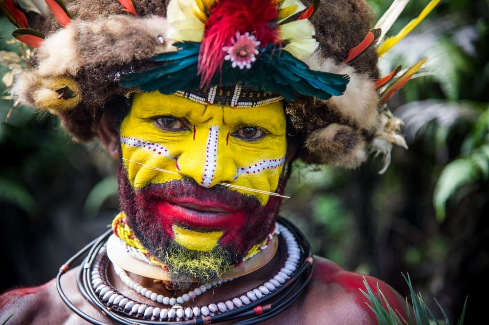 Tribal culture account for several interesting facts about Papua New Guinea