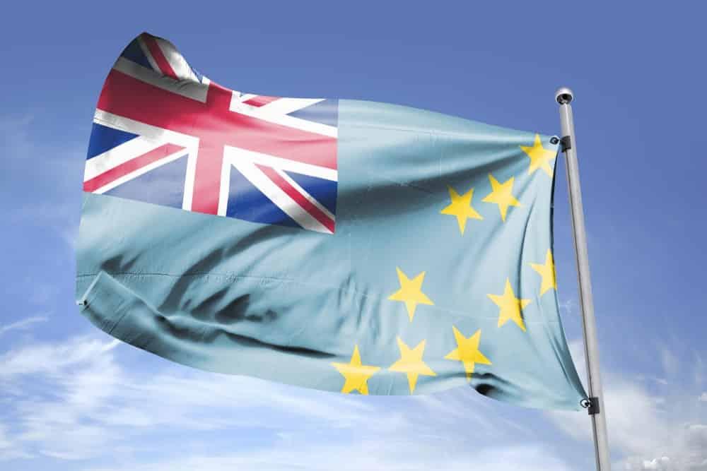 Tuvalu's flag