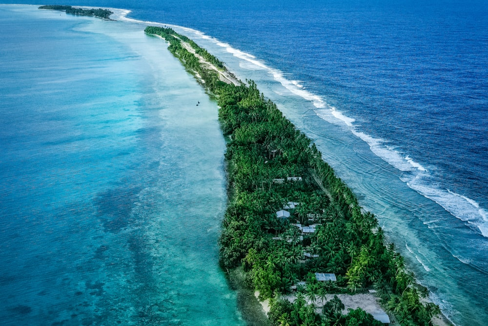 Interesting facts about Tuvalu stem from its unusual topography
