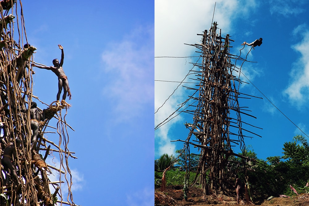 Interesting facts about Vanuatu include inventing bungee jumping