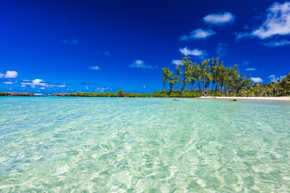 An island in Vanuatu