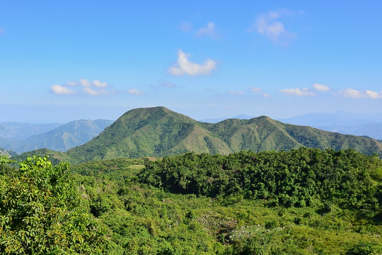 Mountains in Haiti