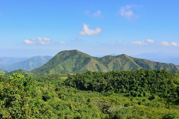 Mountains in Haiti