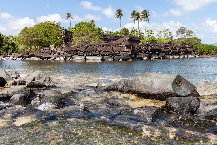 The artificial islands of Nan Madol