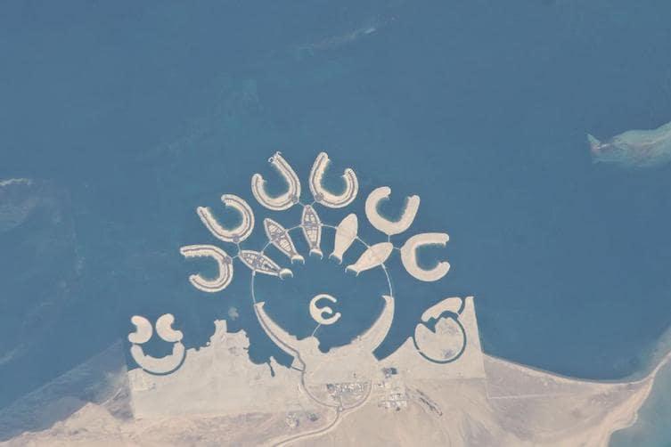 The Durrat Al Bahrain artificial islands