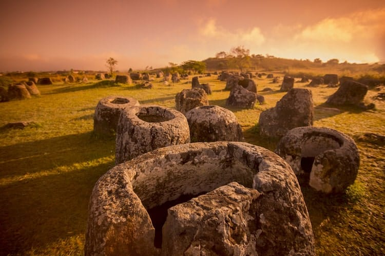 The World Heritage Site of the Plain of Jars