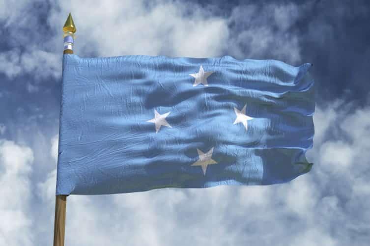 Micronesia's flag
