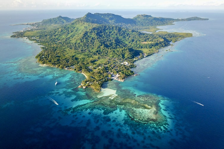 Micronesia is made up of over 600 islands