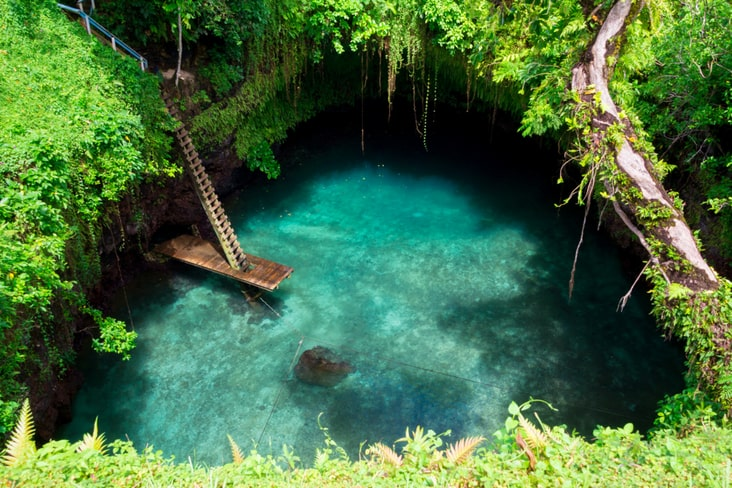 The To Sua Ocean Trench