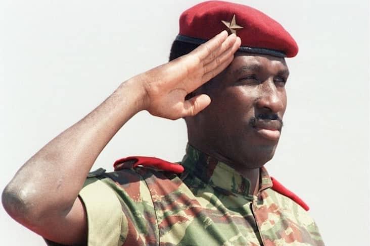 Thomas Sankara ruled Burkina Faso for four years from 1983