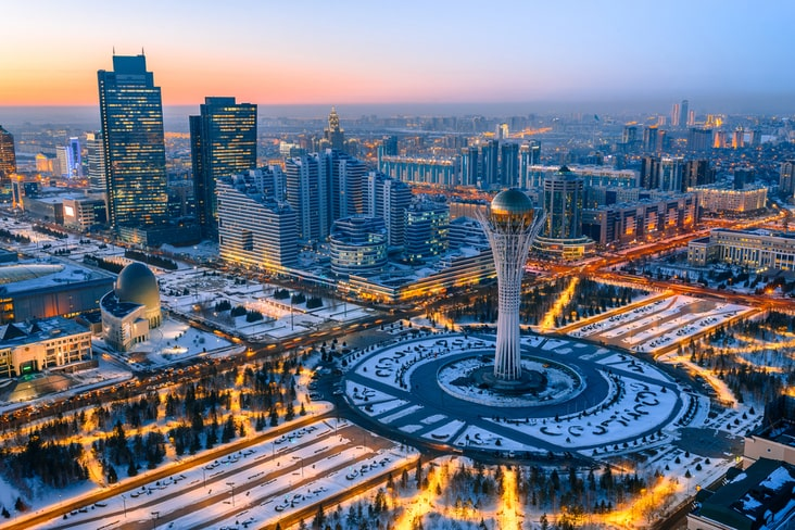 Kazakhstan's capital Nur-Sultan