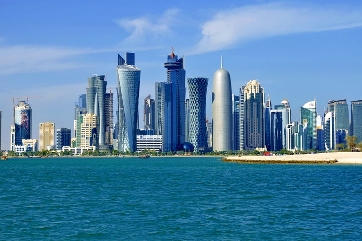Interesting facts about Qatar include  its urbanised population