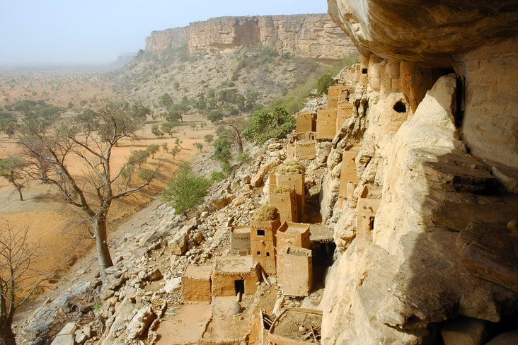 The Cliff of Bandiagara