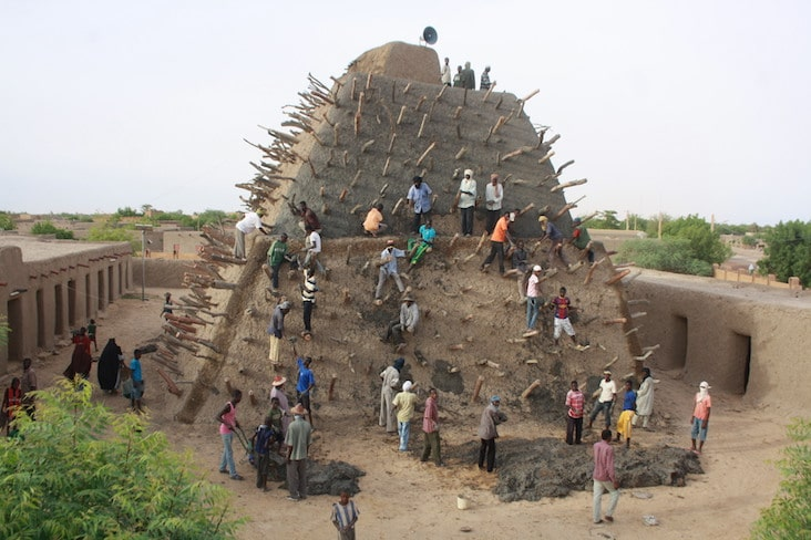 The Tomb of Askia in Mali