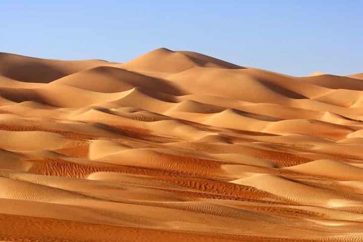 Rubʿ al-Khali sand dunes