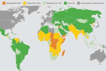 World's hungriest countries – ranked