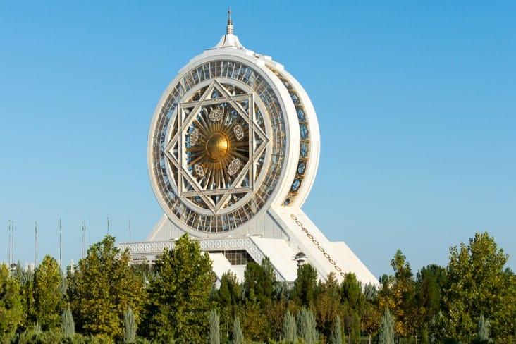 The largest indoor Ferris Wheel in Ashgabat
