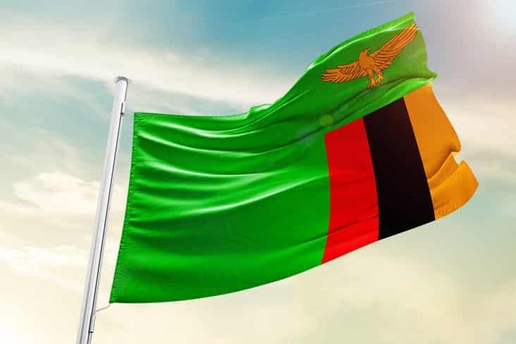 Zambia's flag