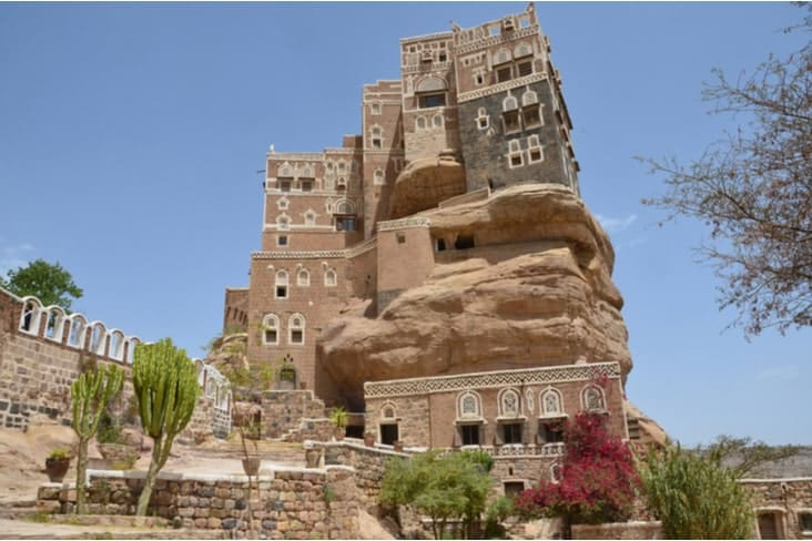 The Dar al-Hajar in Yemen