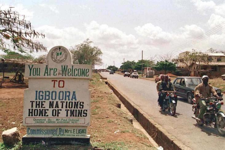 Nigeria's twin town