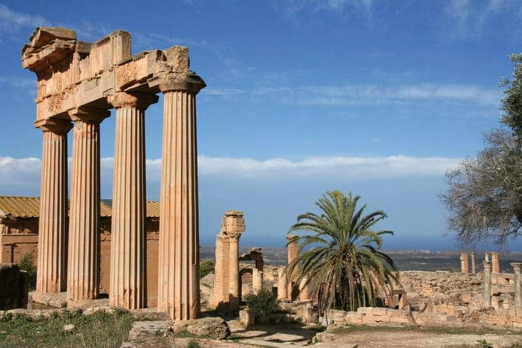 The UNESCO-listed Archaeological Site of Cyrene