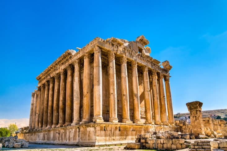 Many interesting facts about Lebanon stem from its ancient history (Shutterstock)