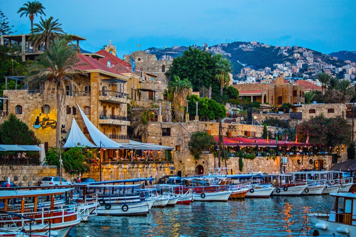 The city of Byblos