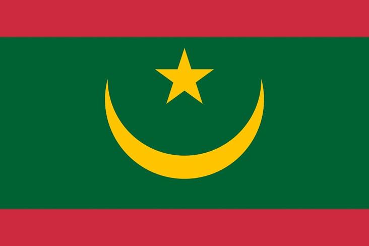 Mauritania's flag