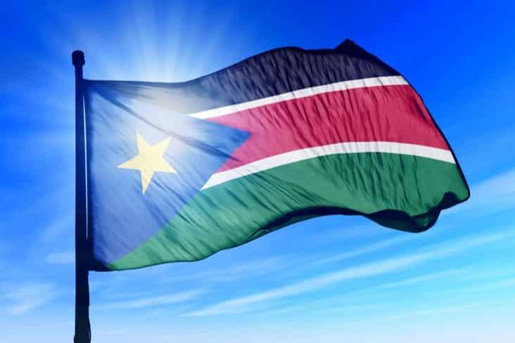 South Sudan's flag