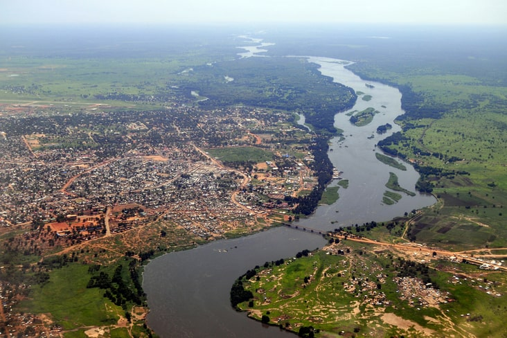 Juba and the White Nile